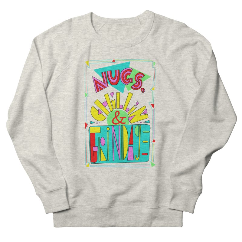 nugs, chillin and grindage Men's Sweatshirt by shortandsharp's Artist Shop