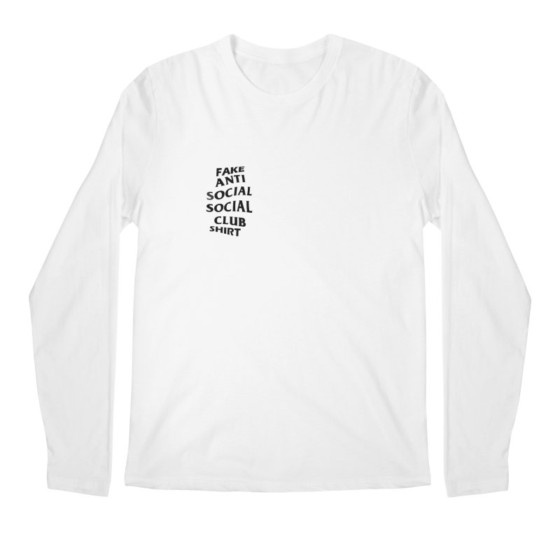 knockoff in Men's Longsleeve T-Shirt White by shortandsharp's Artist Shop
