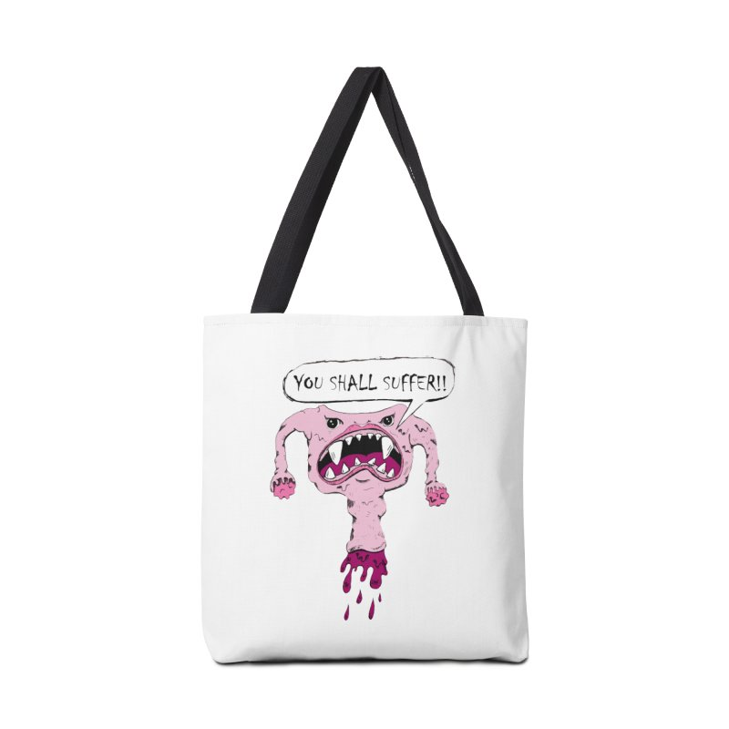 YOU SHALL SUFFER Accessories Bag by shortandsharp's Artist Shop