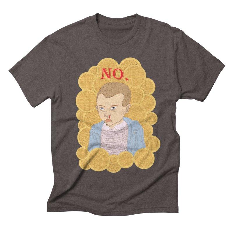 No.  Men's Triblend T-shirt by shortandsharp's Artist Shop