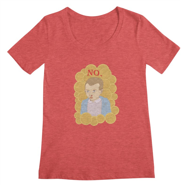 No.  Women's Scoopneck by shortandsharp's Artist Shop