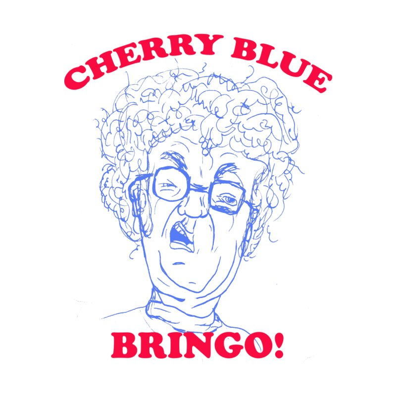 CHERRY BLUE! Women's Fitted T-Shirt by shortandsharp's Artist Shop