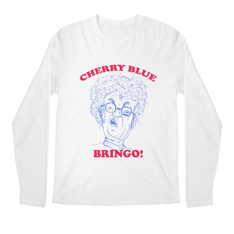 CHERRY BLUE! Men's Longsleeve T-Shirt by shortandsharp's Artist Shop