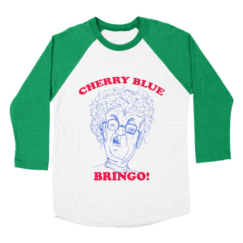 CHERRY BLUE! Men's Baseball Triblend T-Shirt by shortandsharp's Artist Shop