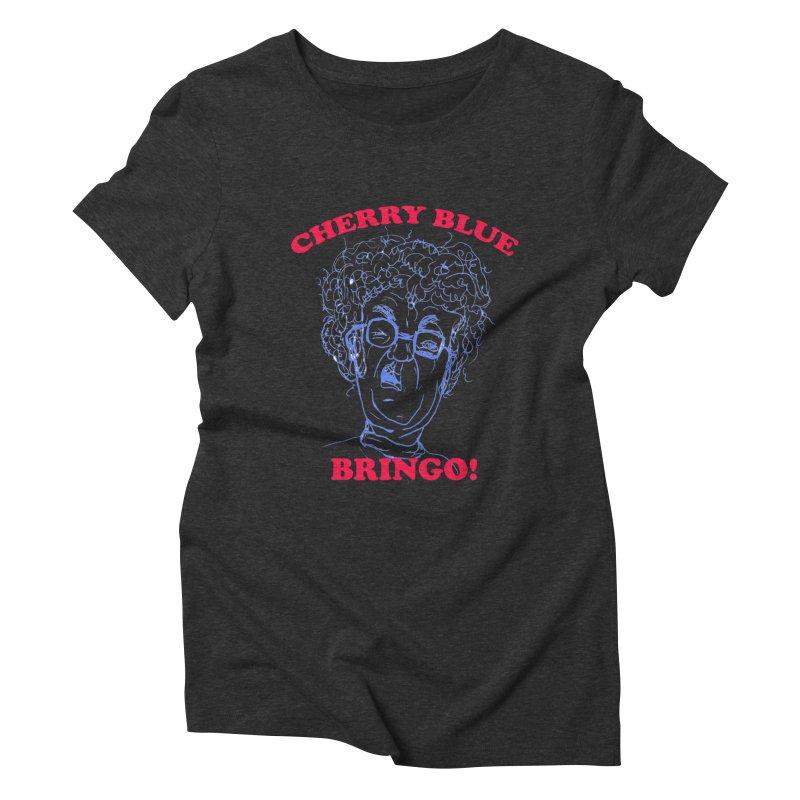 CHERRY BLUE! Women's Triblend T-shirt by shortandsharp's Artist Shop