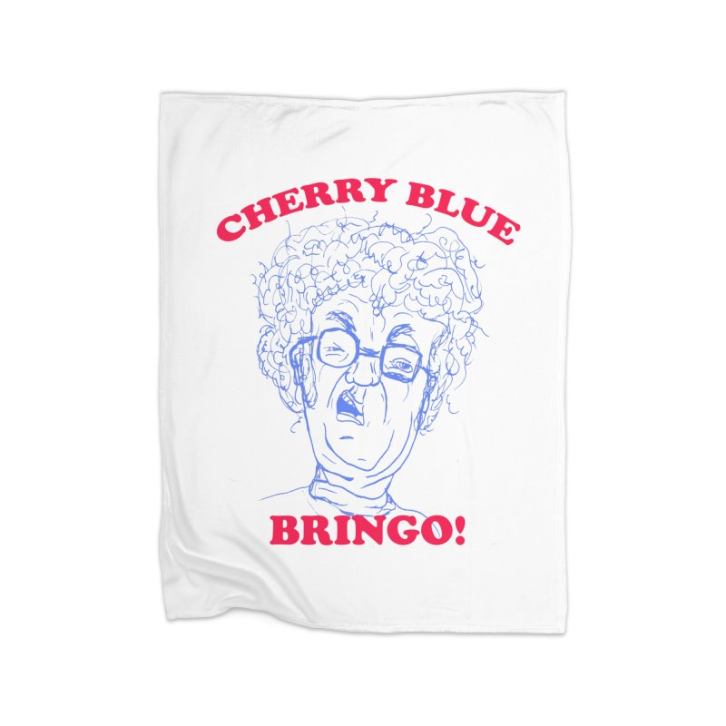 CHERRY BLUE! Home Blanket by shortandsharp's Artist Shop