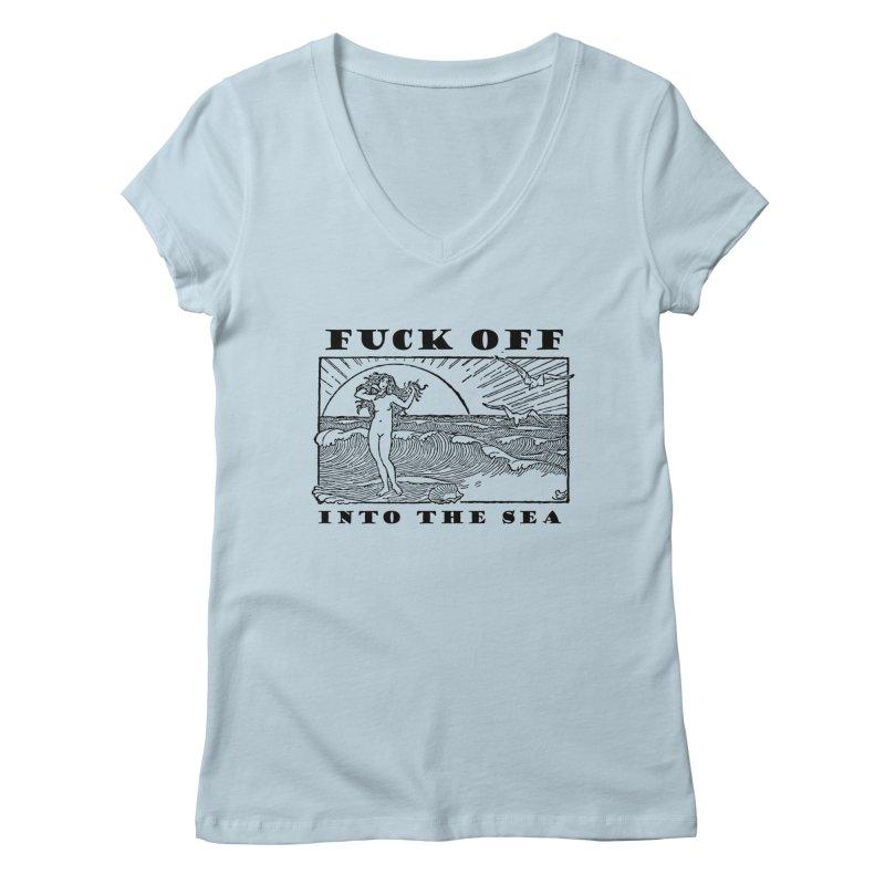 F.O.I.T.S. Women's V-Neck by shouty words's Artist Shop