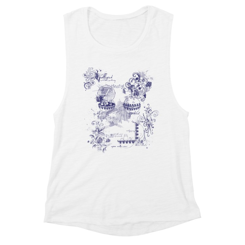Gallipot: automated anodyne mixing device Women's Tank by shouty words's Artist Shop