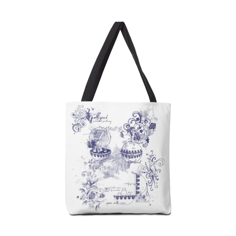 Gallipot: automated anodyne mixing device Accessories Bag by shouty words's Artist Shop