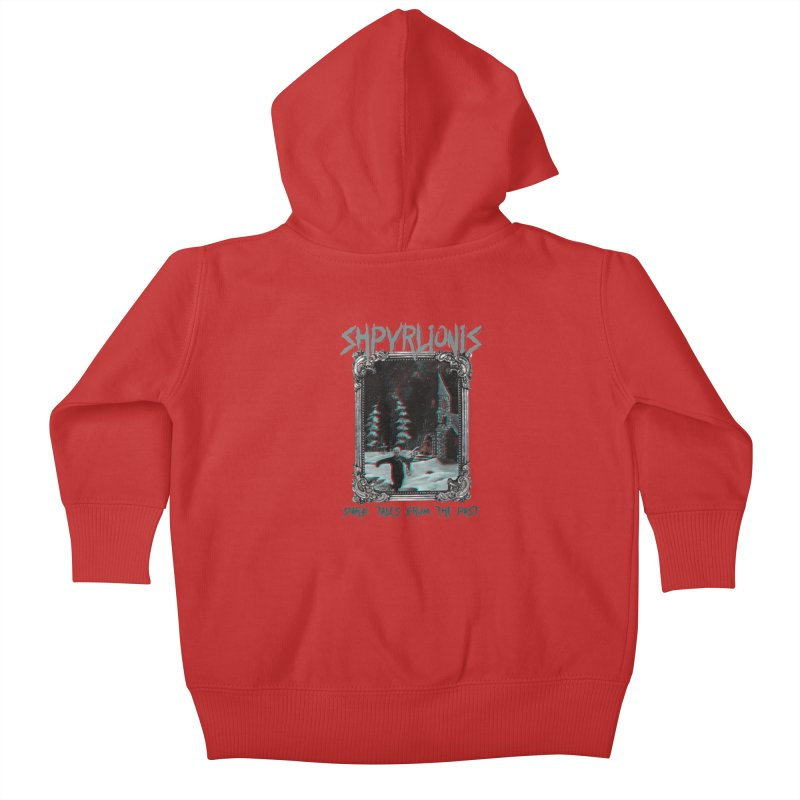 First Communion - Dark tales from the past Kids Baby Zip-Up Hoody by shpyart's Artist Shop