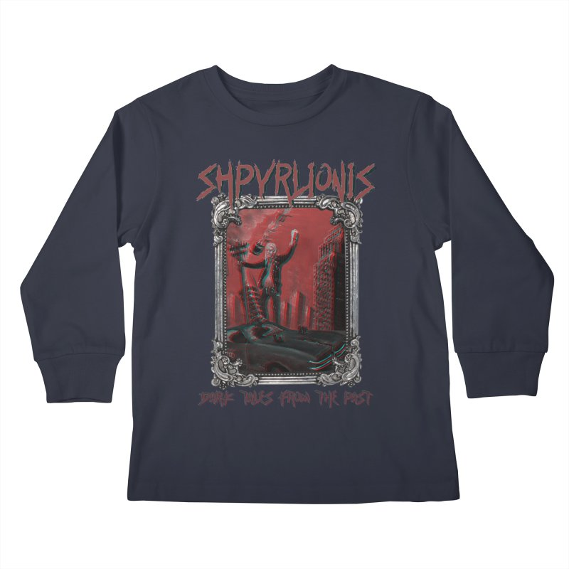 Alcotopia Kids Longsleeve T-Shirt by shpyart's Artist Shop