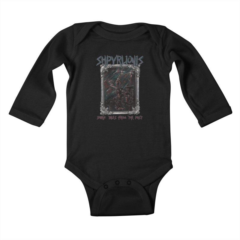 Atmosphere Kids Baby Longsleeve Bodysuit by shpyart's Artist Shop