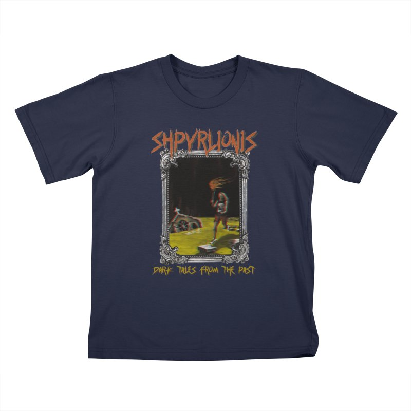 Toxic Maraton - Dark tales from the past Kids T-Shirt by shpyart's Artist Shop