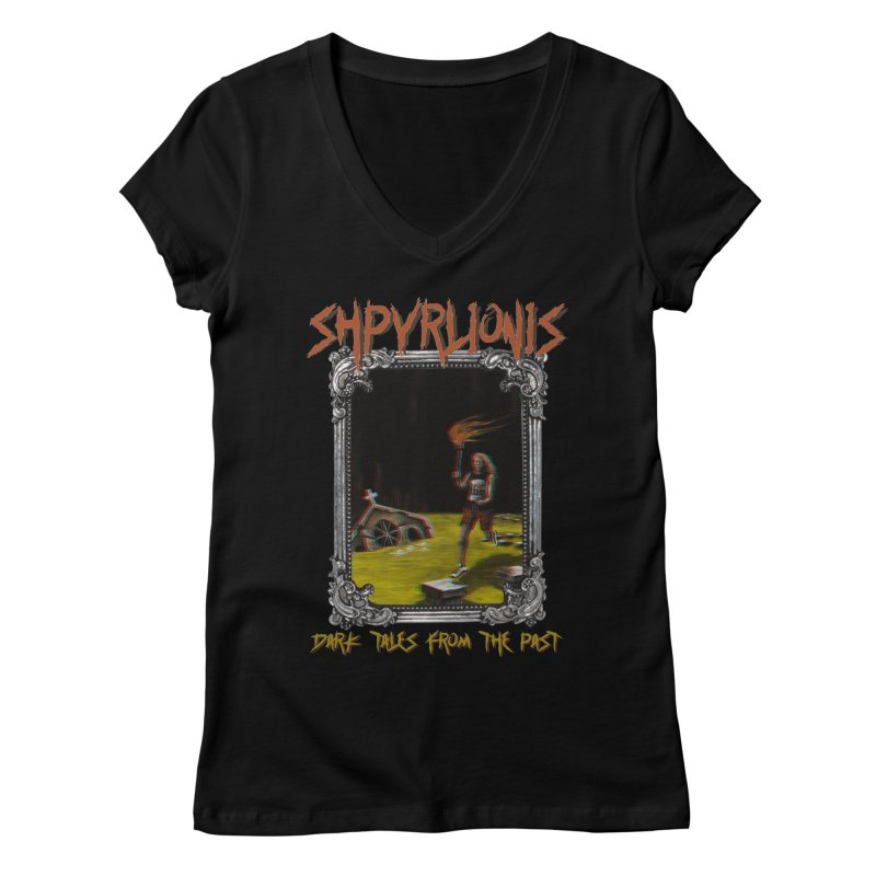 Toxic Maraton Women's V-Neck by shpyart's Artist Shop