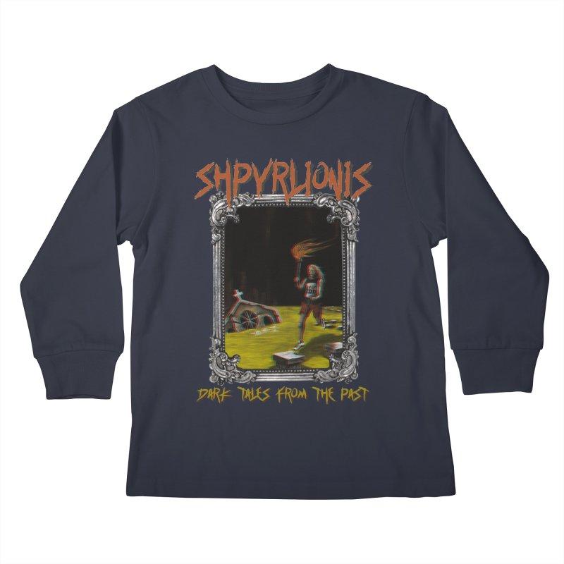 Toxic Maraton - Dark tales from the past Kids Longsleeve T-Shirt by shpyart's Artist Shop