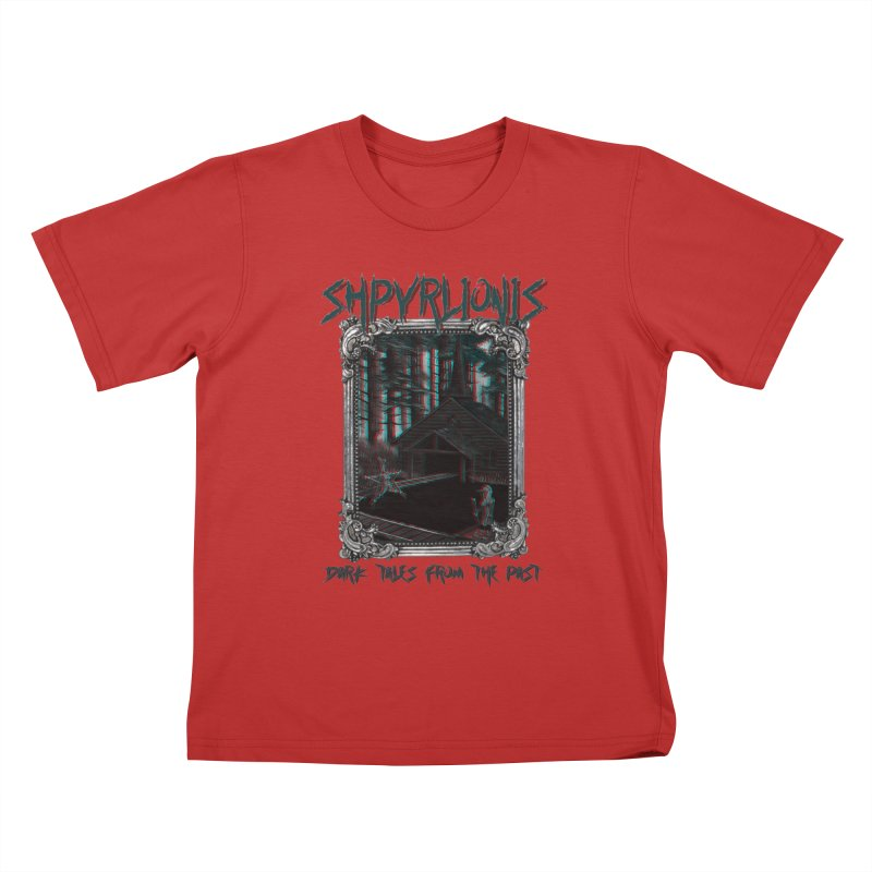 Cold Comfort - Dark tales from the past Kids T-Shirt by shpyart's Artist Shop