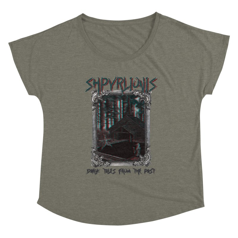 Cold Comfort - Dark tales from the past Women's Scoop Neck by shpyart's Artist Shop