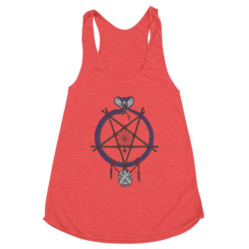 Dark dreamcatcher pentagram Women's Tank by shpyart's Artist Shop