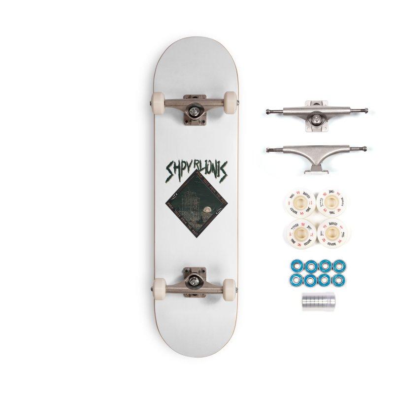 Truth Seekers - Rhombus Accessories Skateboard by shpyart's Artist Shop