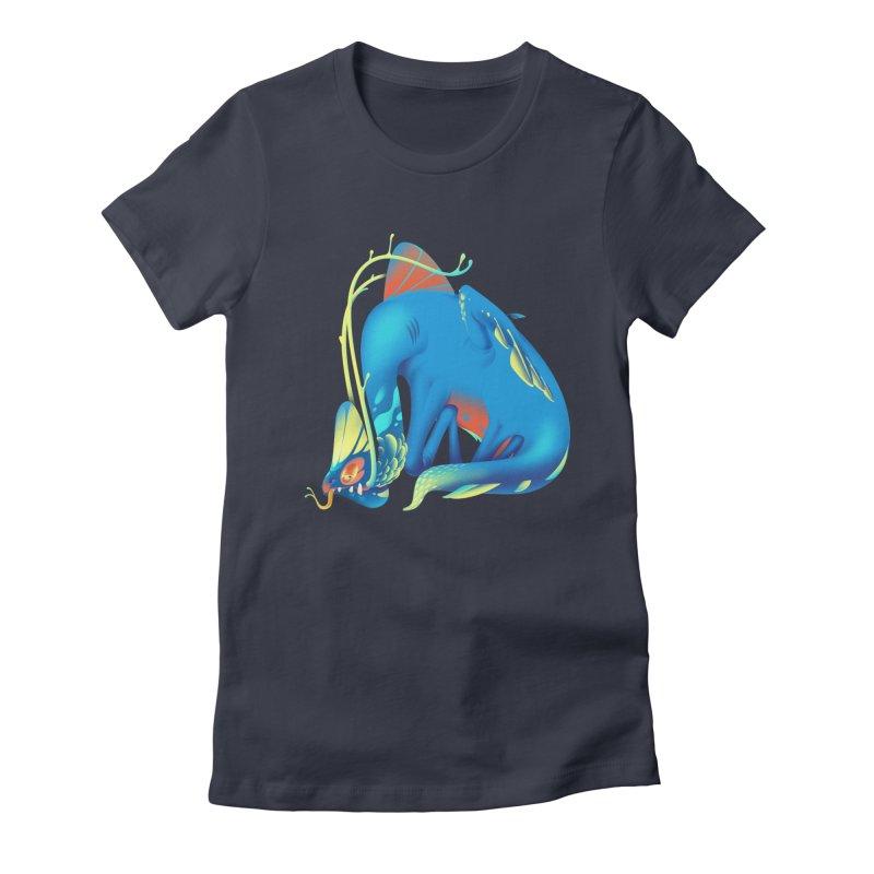 Stranger thing #1 Women's Fitted T-Shirt by Shubin's shop