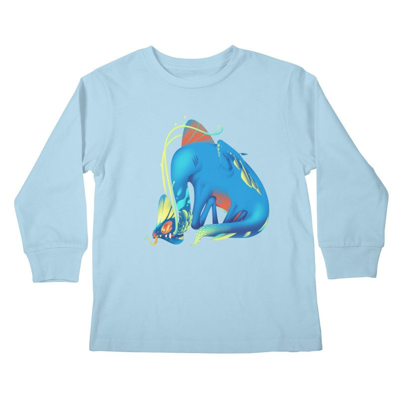 Stranger thing #1 Kids Longsleeve T-Shirt by Shubin's shop