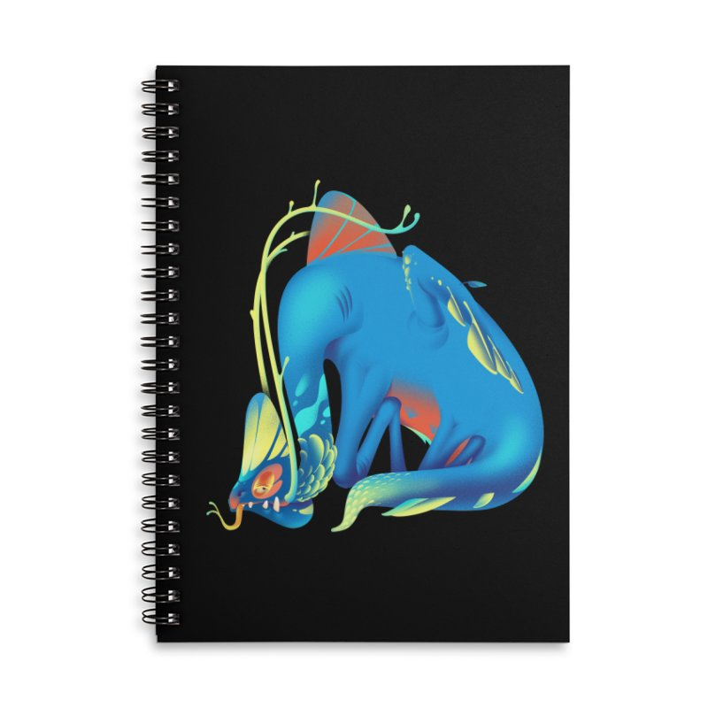 Stranger thing #1 Accessories Lined Spiral Notebook by Shubin's shop
