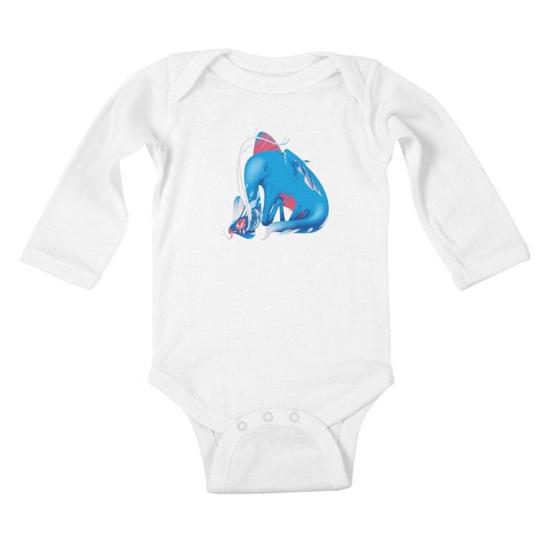 Stranger thing #1.1 Kids Baby Longsleeve Bodysuit by Shubin's shop