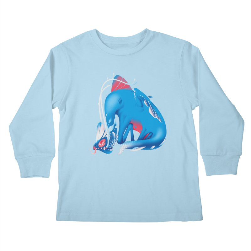Stranger thing #1.1 Kids Longsleeve T-Shirt by Shubin's shop