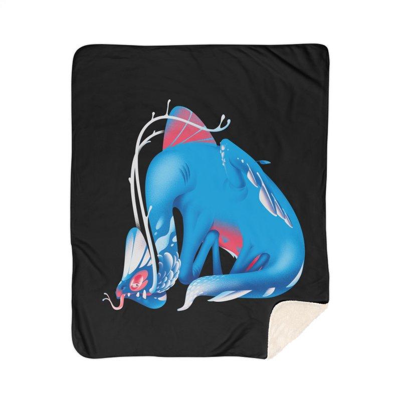 Stranger thing #1.1 Home Sherpa Blanket Blanket by Shubin's shop