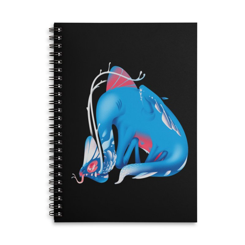 Stranger thing #1.1 Accessories Lined Spiral Notebook by Shubin's shop