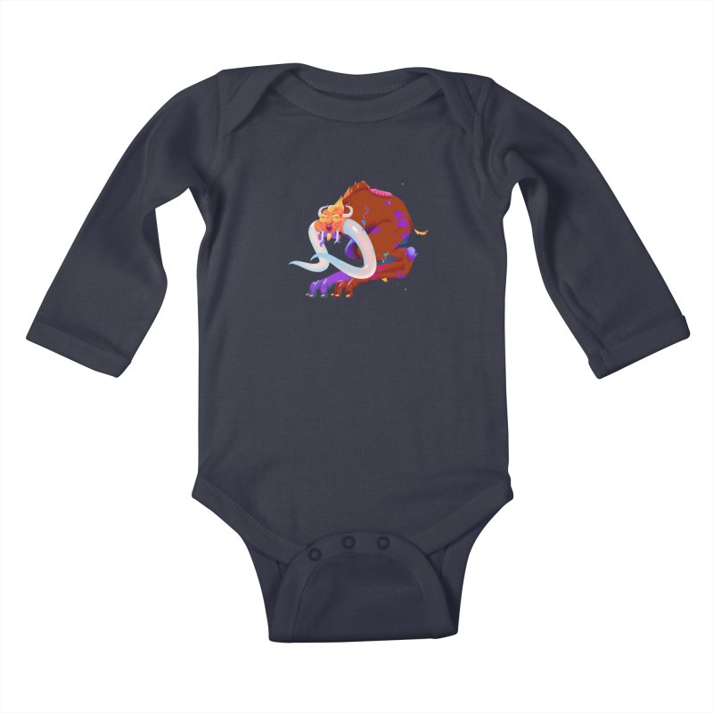 Stranger thing #2 Kids Baby Longsleeve Bodysuit by Shubin's shop