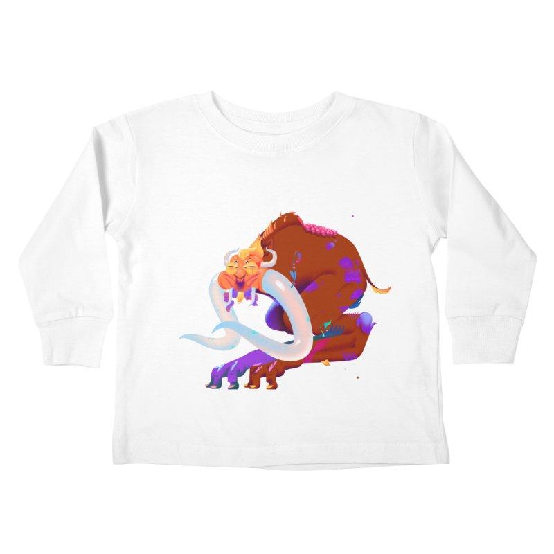 Stranger thing #2 Kids Toddler Longsleeve T-Shirt by Shubin's shop