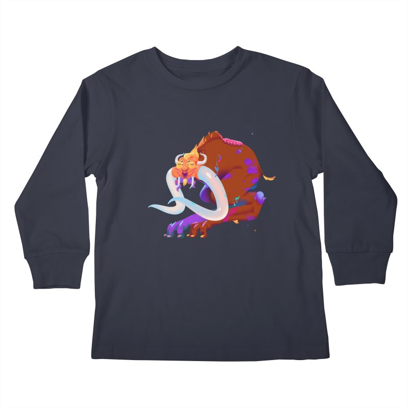 Stranger thing #2 Kids Longsleeve T-Shirt by Shubin's shop