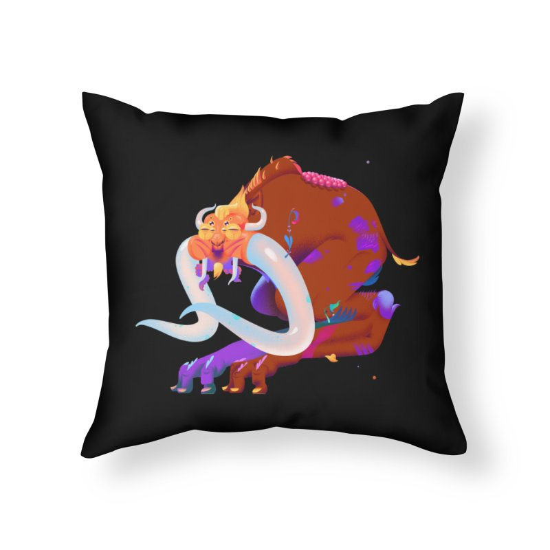 Stranger thing #2 Home Throw Pillow by Shubin's shop
