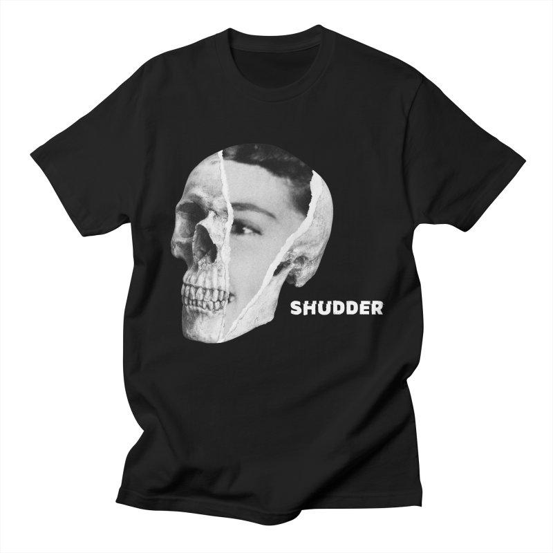 RIP B&W in Men's Regular T-Shirt Black by shudder's Artist Shop