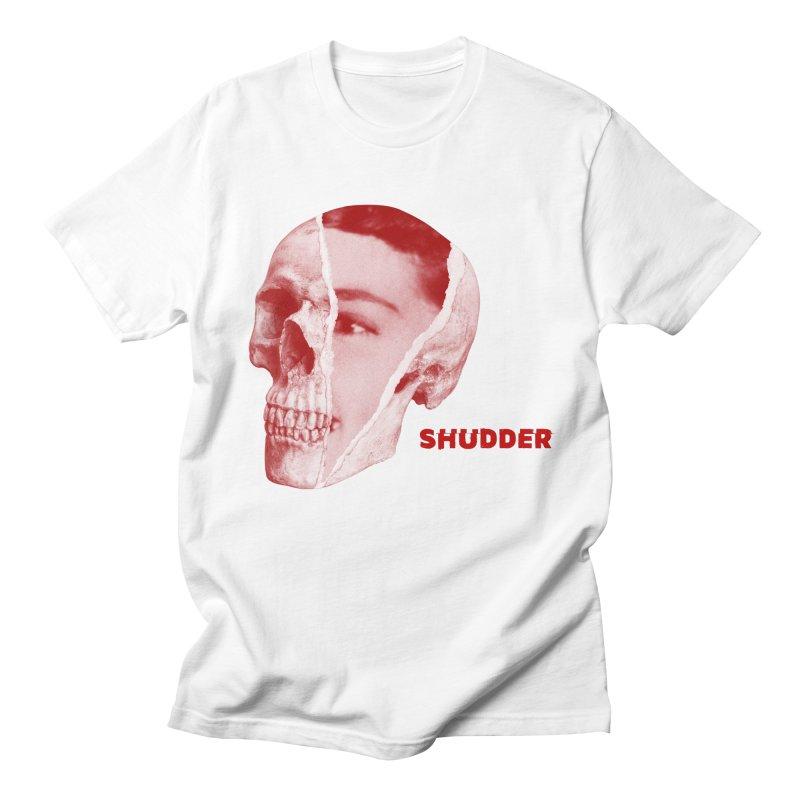 RIP Red in Women's Regular Unisex T-Shirt White by shudder's Artist Shop