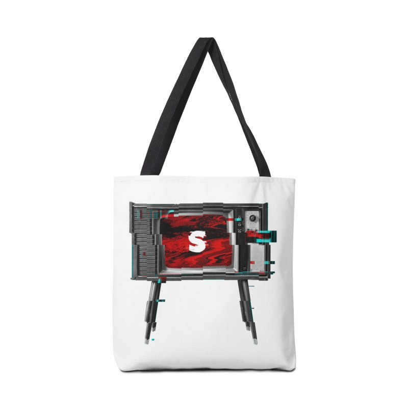 Channel Unavailable Accessories Bag by shudder's Artist Shop