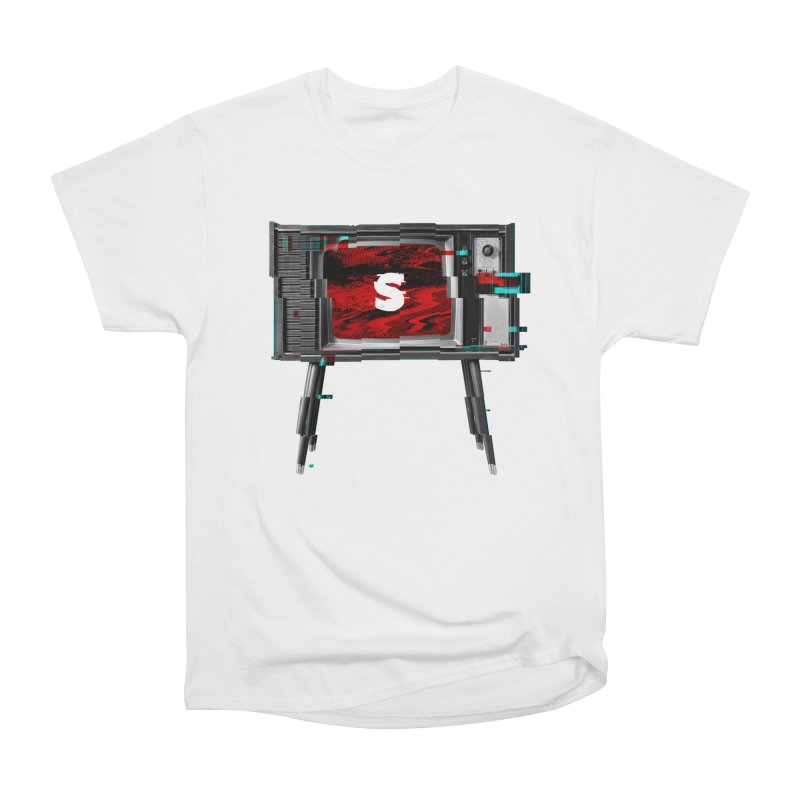 Channel Unavailable Women's Heavyweight Unisex T-Shirt by shudder's Artist Shop