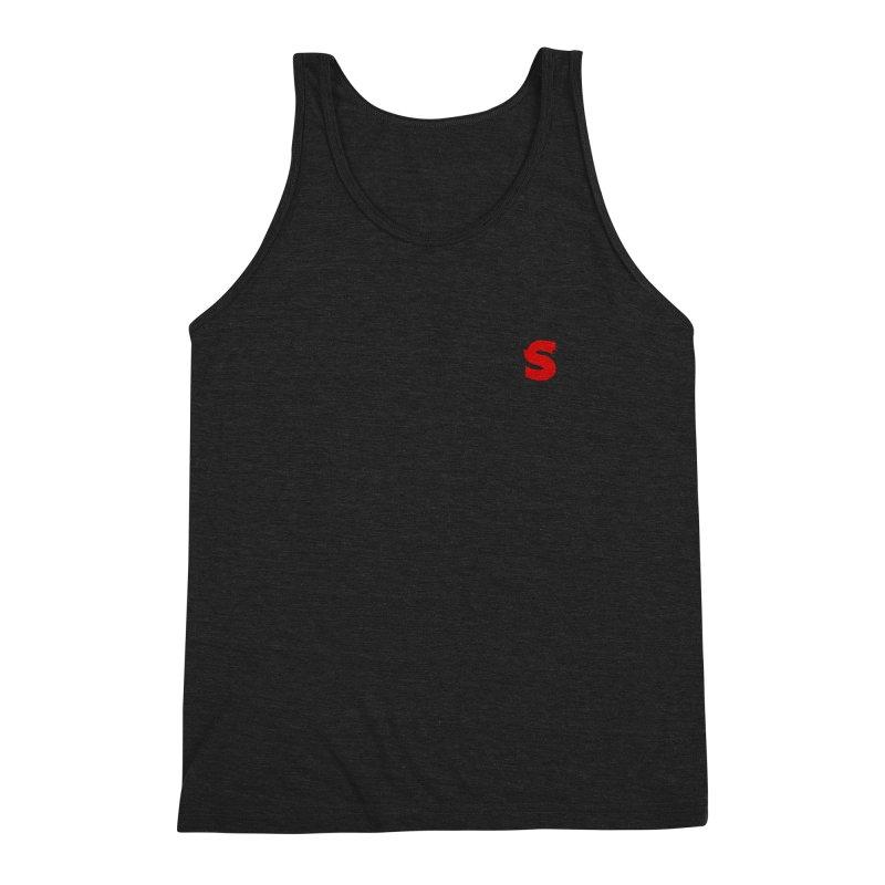 S is for Shudder Men's Triblend Tank by shudder's Artist Shop