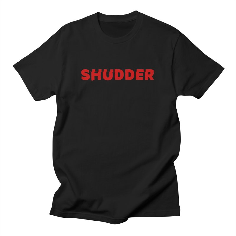I Love Shudder in Men's Regular T-Shirt Black by shudder's Artist Shop