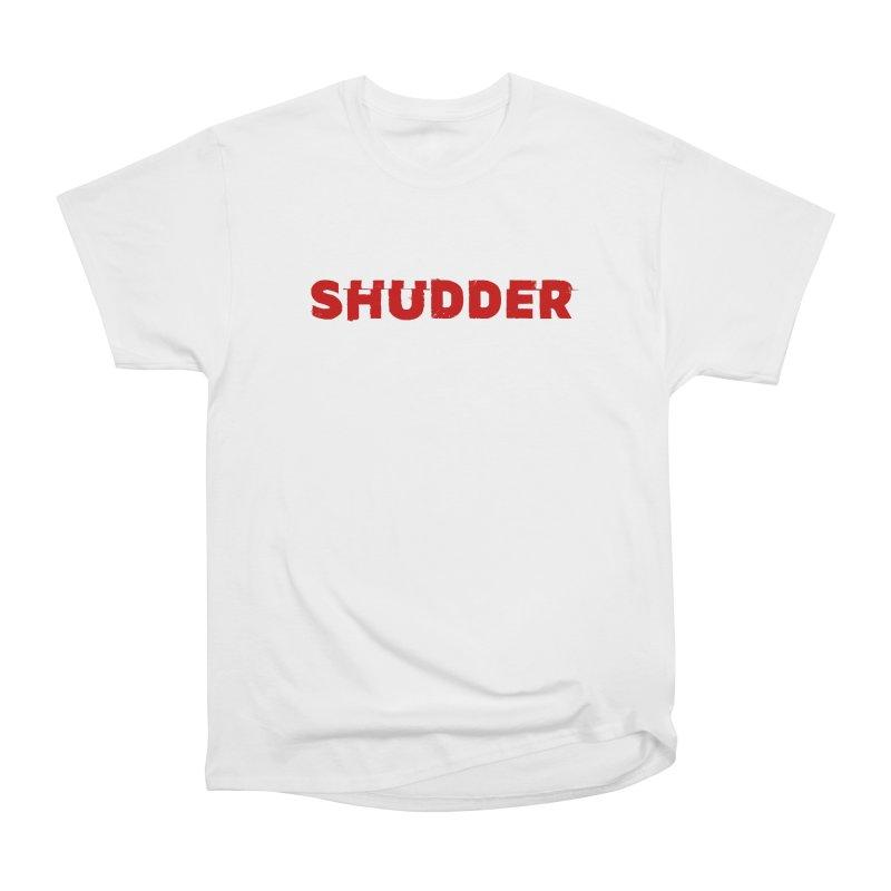 I Love Shudder Men's Heavyweight T-Shirt by shudder's Artist Shop
