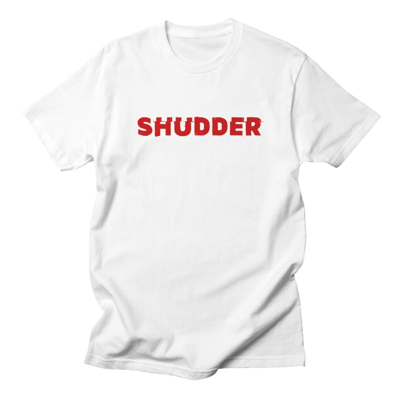I Love Shudder Men's Regular T-Shirt by Shudder