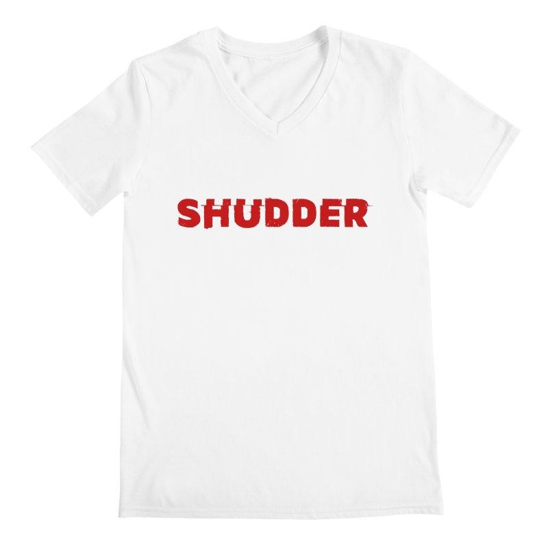 I Love Shudder Men's Regular V-Neck by Shudder