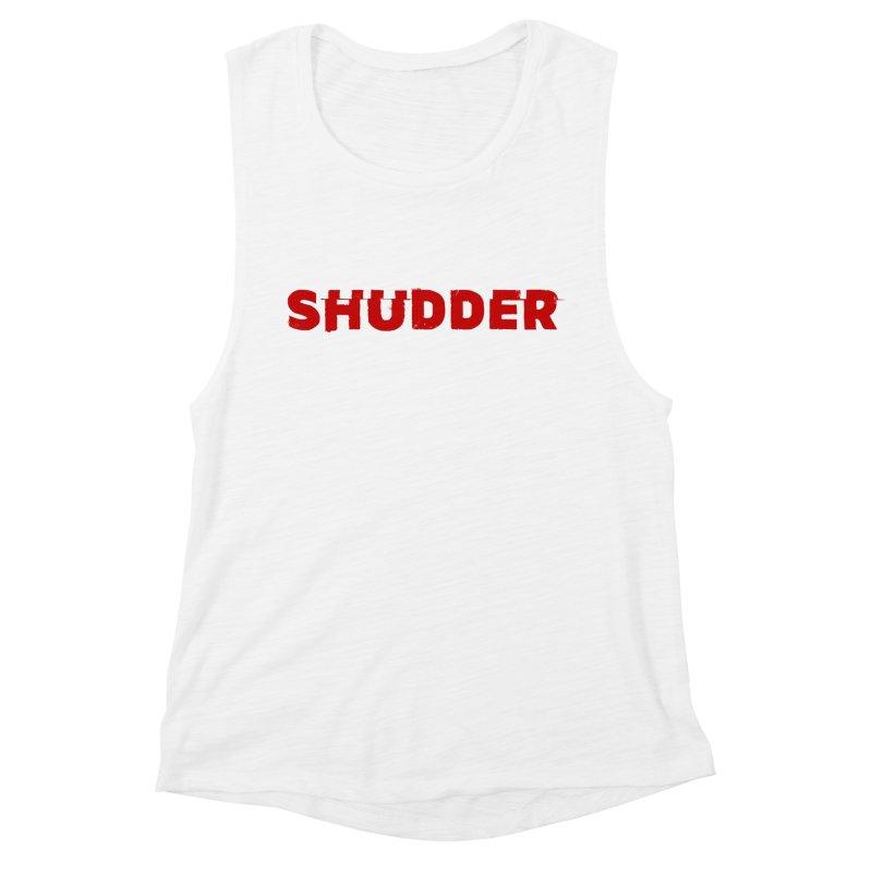 I Love Shudder Women's Muscle Tank by Shudder