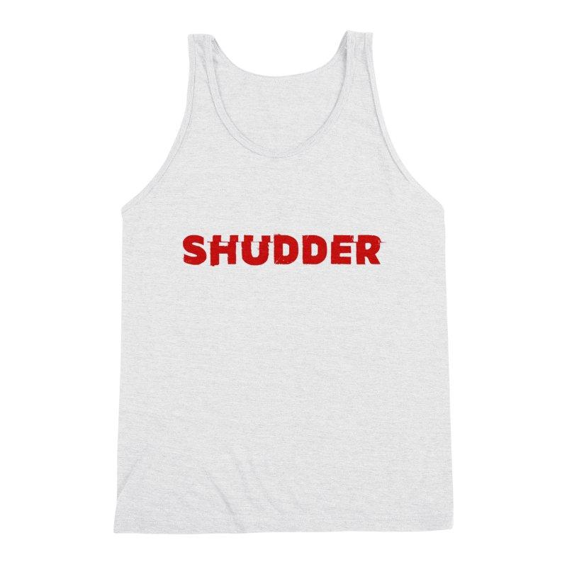I Love Shudder Men's Triblend Tank by Shudder