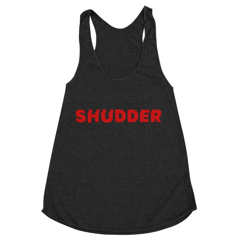 I Love Shudder Women's Racerback Triblend Tank by Shudder