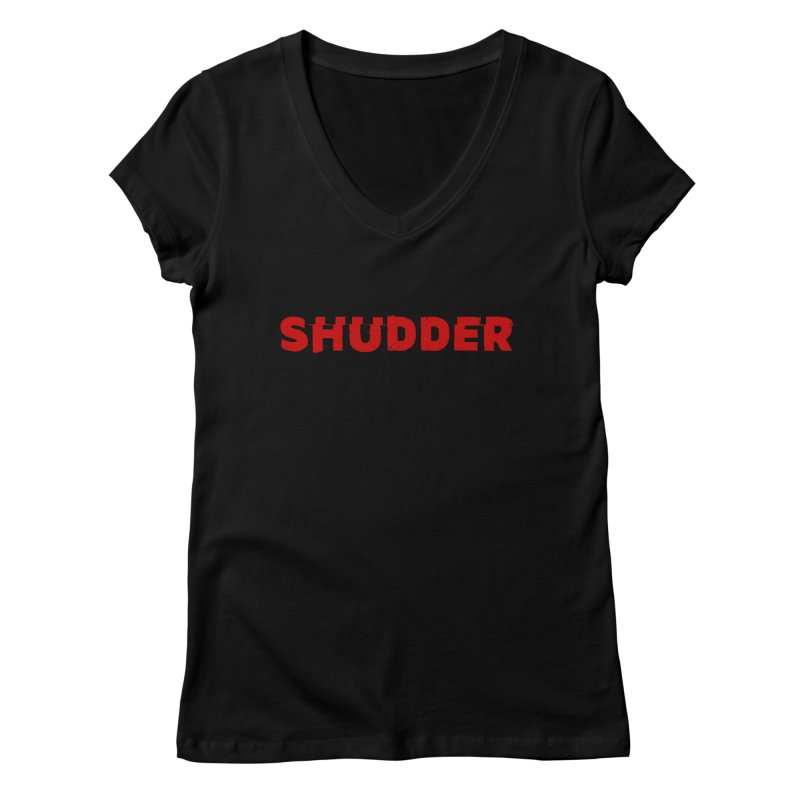 I Love Shudder Women's Regular V-Neck by shudder's Artist Shop
