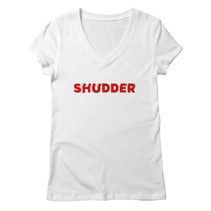 I Love Shudder Women's Regular V-Neck by Shudder