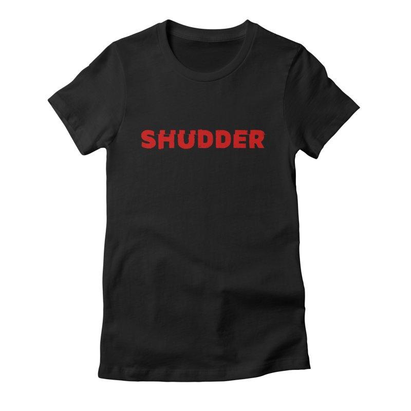 I Love Shudder Women's Fitted T-Shirt by Shudder