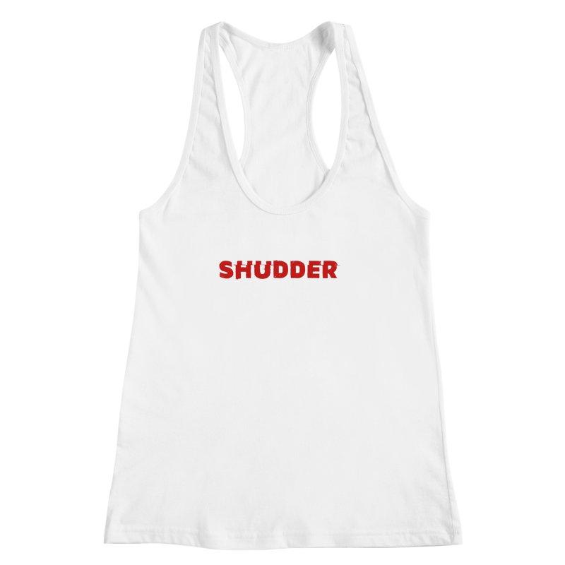 I Love Shudder Women's Racerback Tank by Shudder